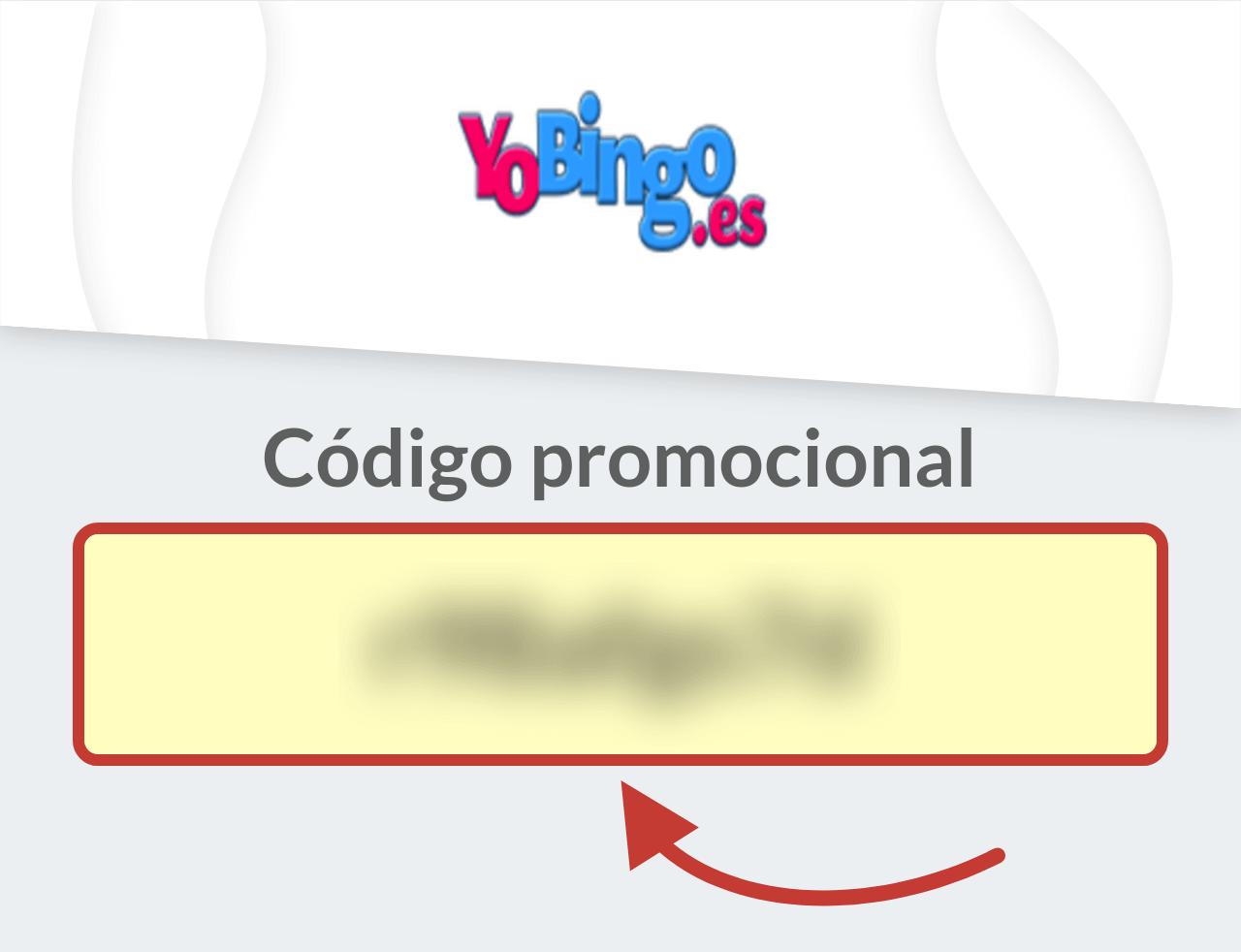 Código Promocional YoBingo