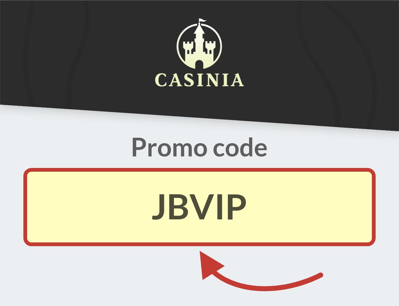 Casinia Casino Promo Code