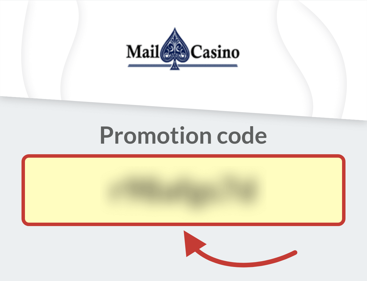 Mail Casino Promotion Code