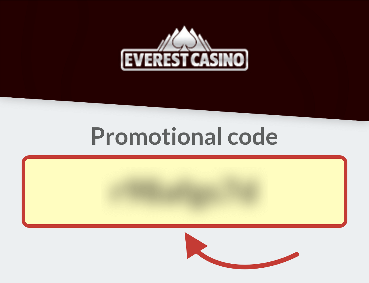 Everest Casino Promotional Code
