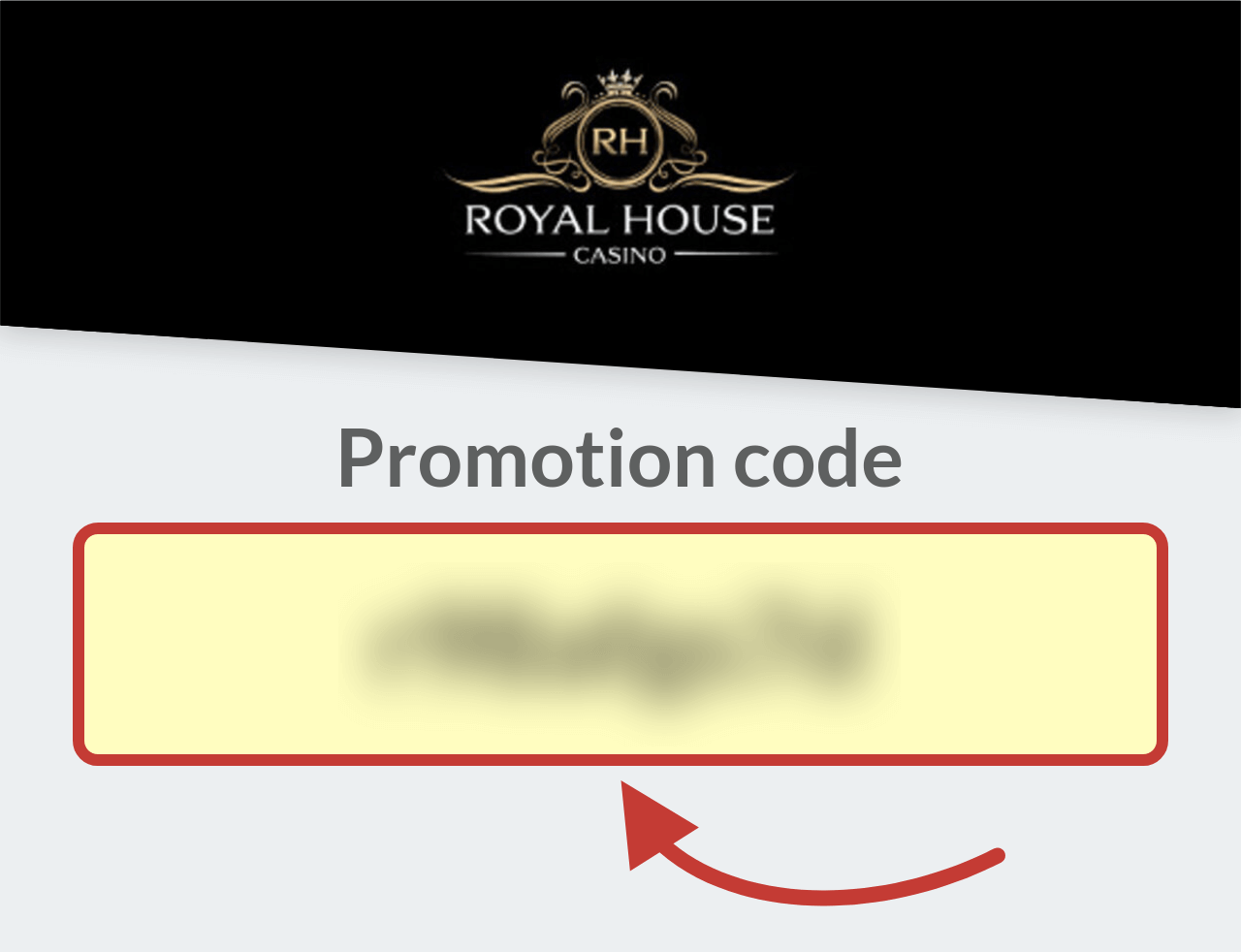 Royal House Casino Promotion Code