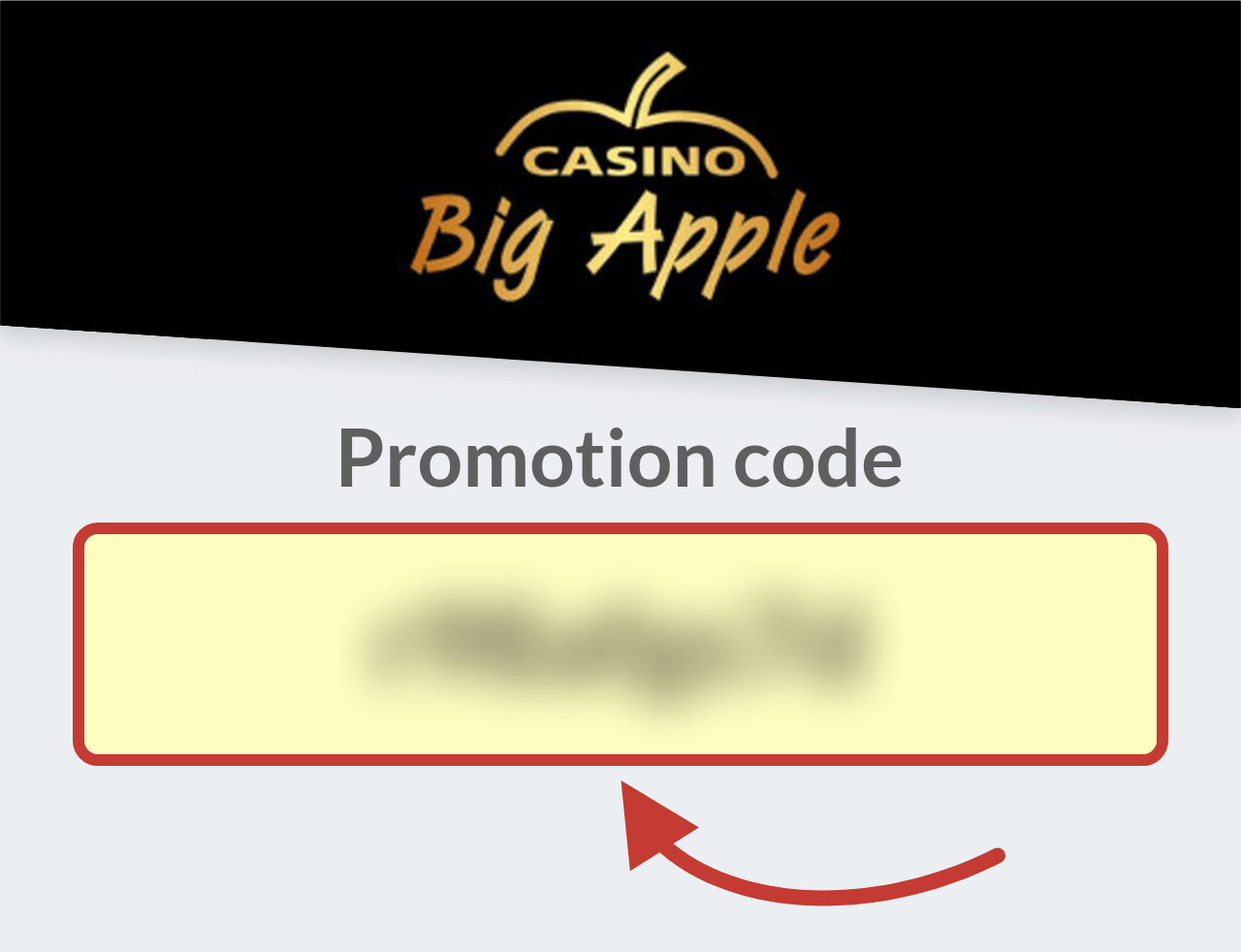 Casino Big Apple Promo Code