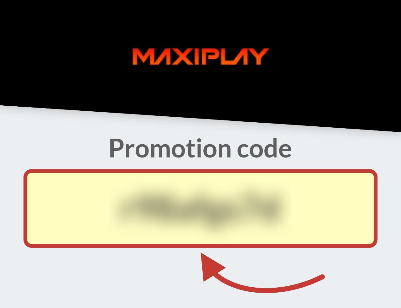Maxiplay Promo Code