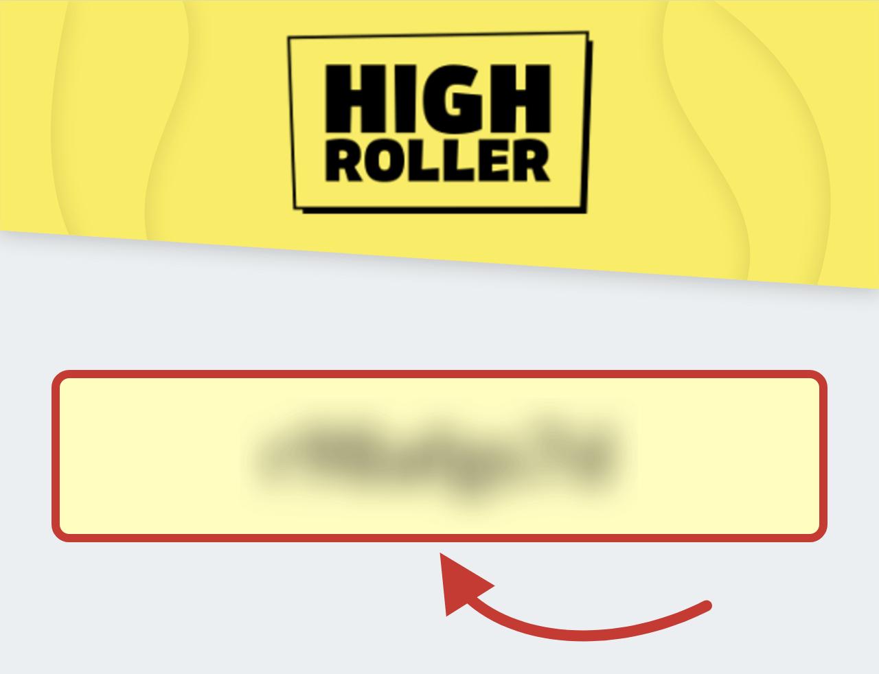 Highroller Casino Bonus Code