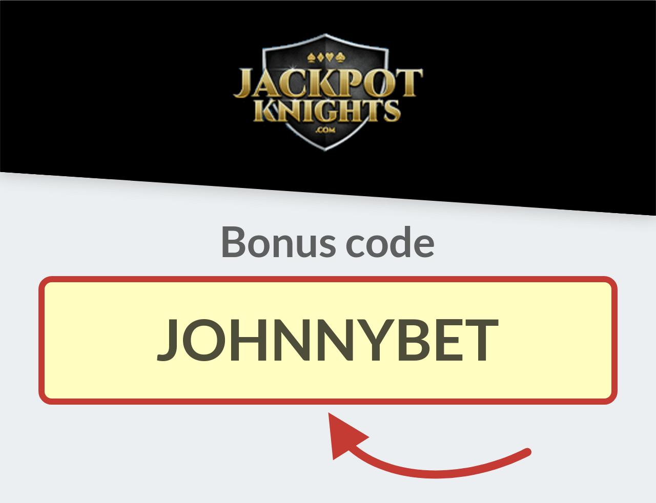 Jackpot Knights Casino Bonus Code