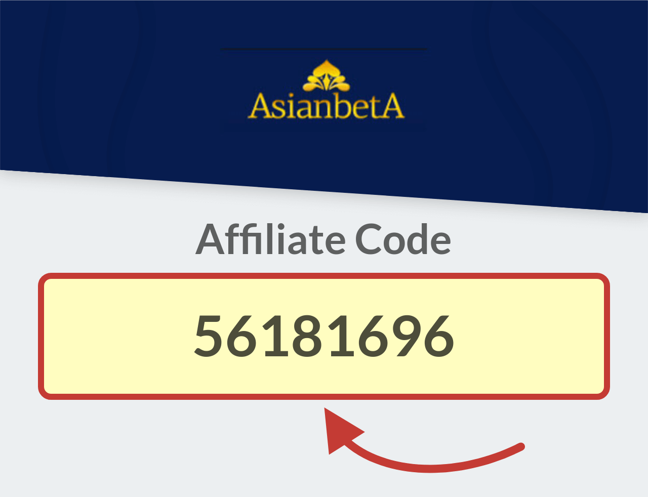 AsianbetA Affiliate Bonus Code