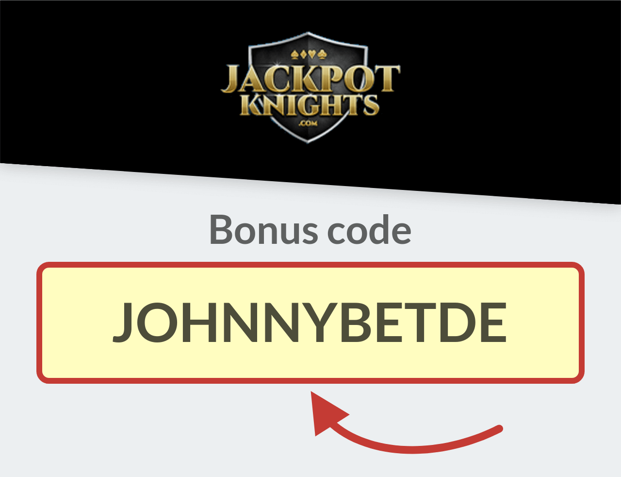 Jackpot Knights Casino Bonuscode
