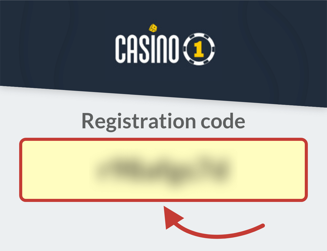 Casino1 Registration Bonus Code