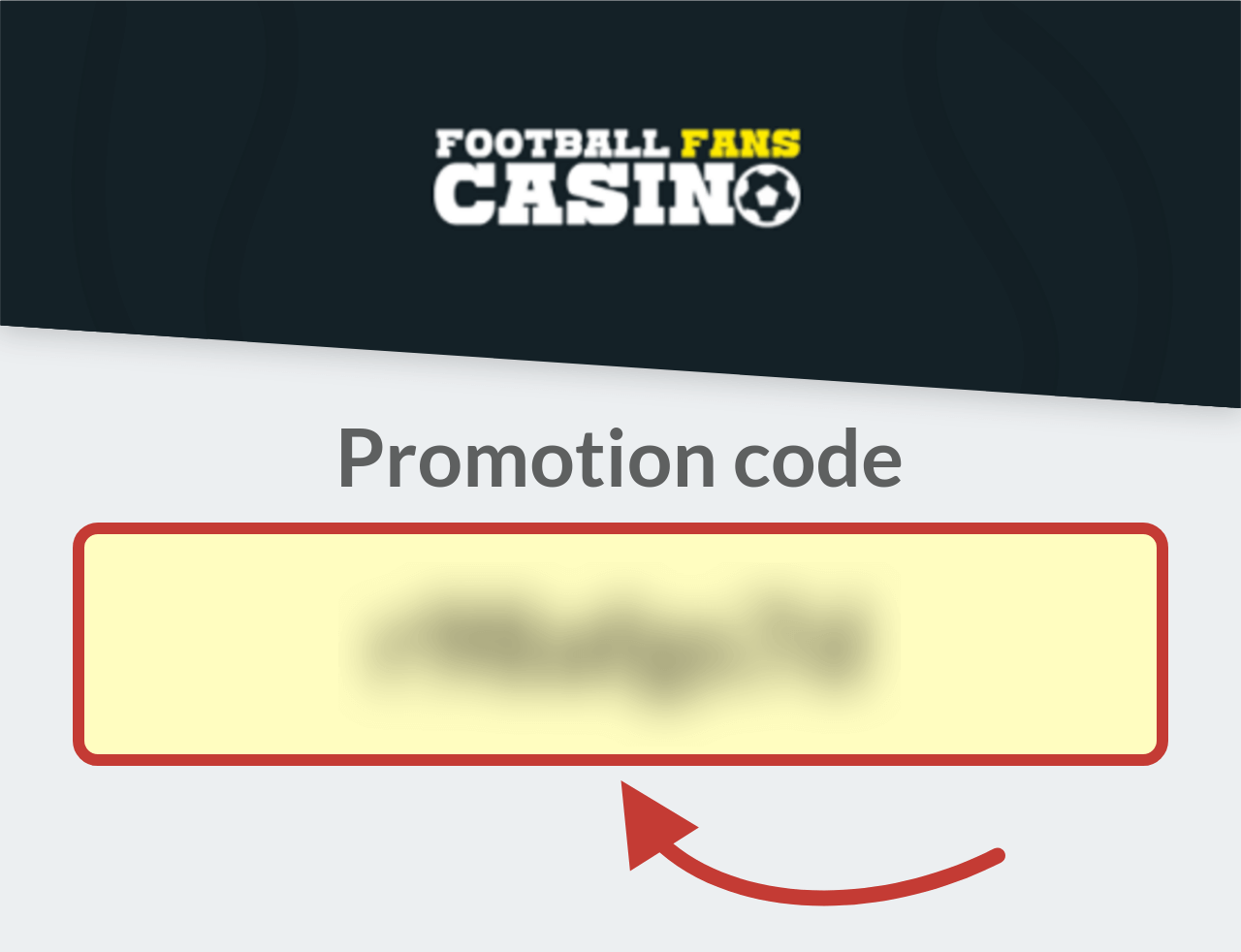 Football Fans Casino Promotion Code