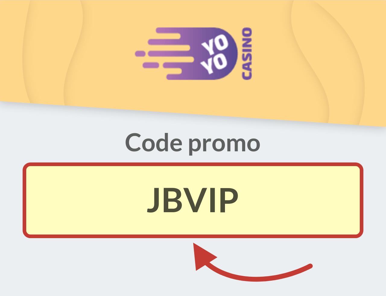 Code promo Yoyo Casino