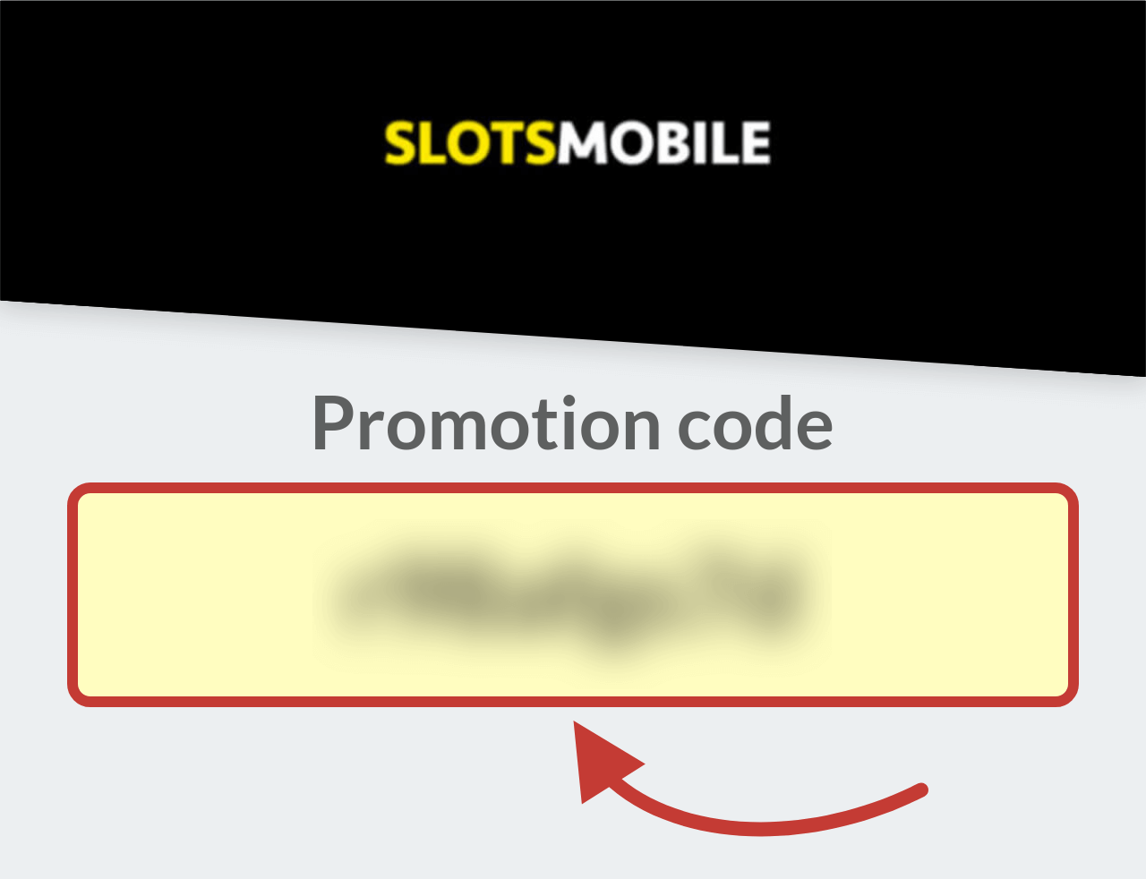 Slots Mobile Casino Promotion Code