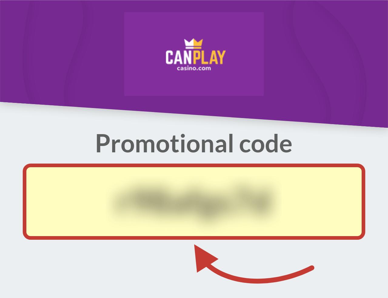 CanPlay Casino Promotional Code