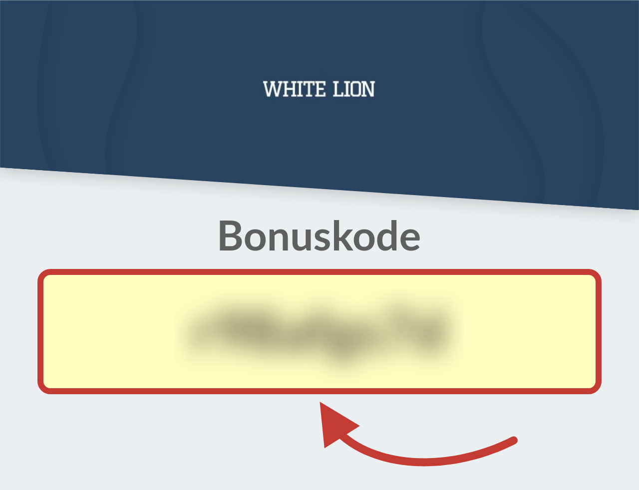 White Lion Bets Casino Bonuskode