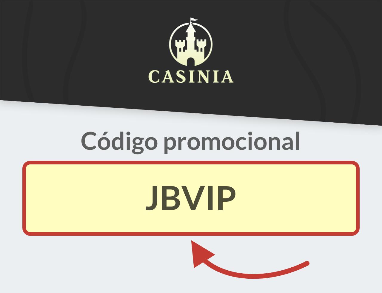 Código Promocional Casinia.com