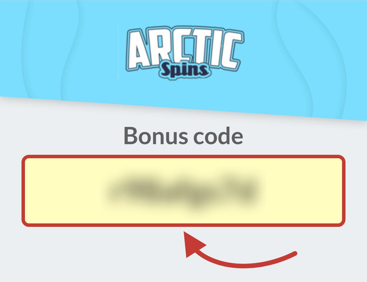 Arctic Spins Casino Bonus Code