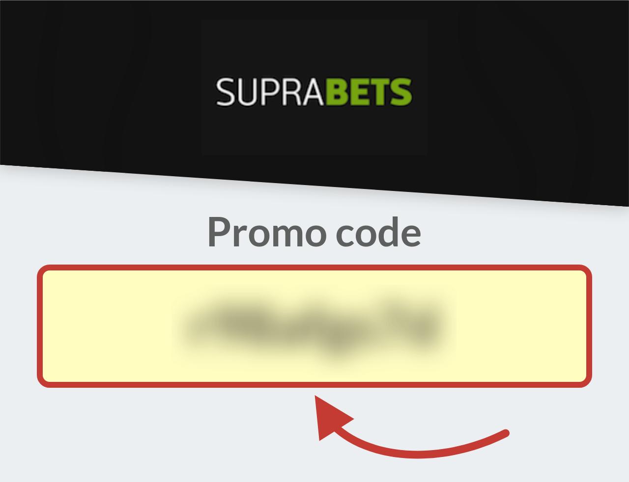 Suprabets Promo Code