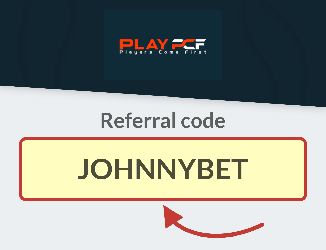 Play PCF Referral Code