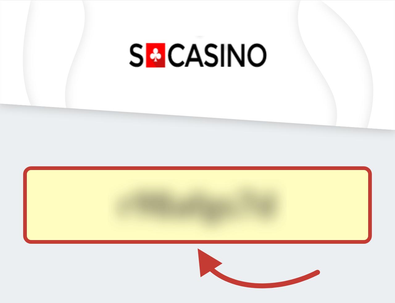 SCasino Bonuskod