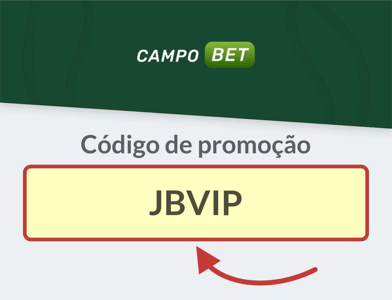 Código de promoção CampoBet