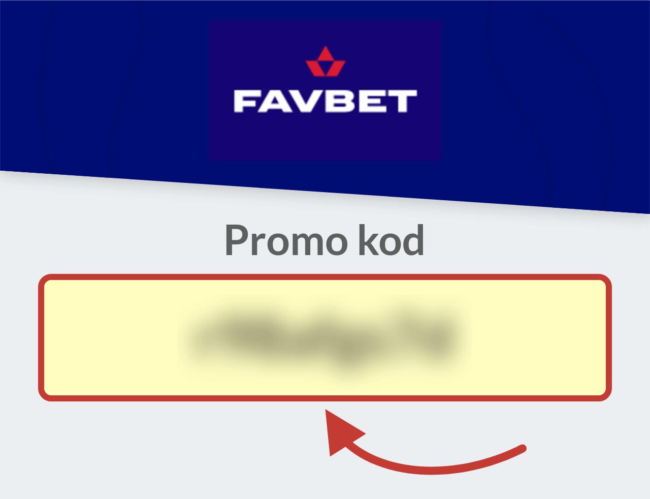 FavBet Bonus Kod