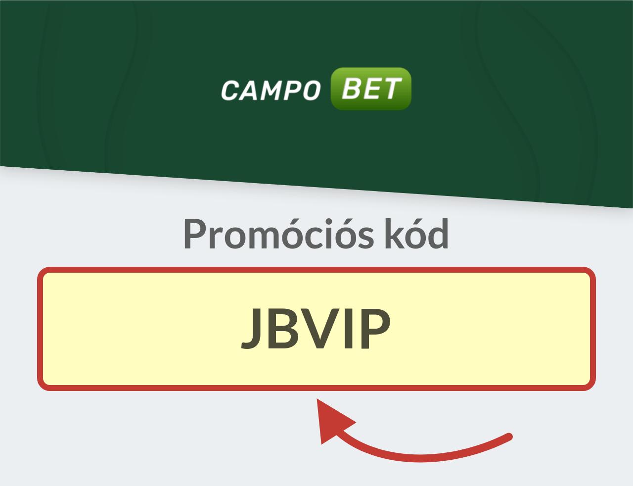 CampoBet Promóciós kód