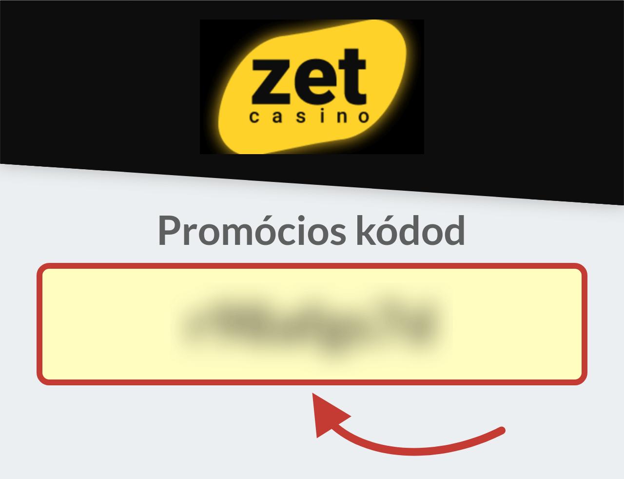 Zet Casino promóciós kódod