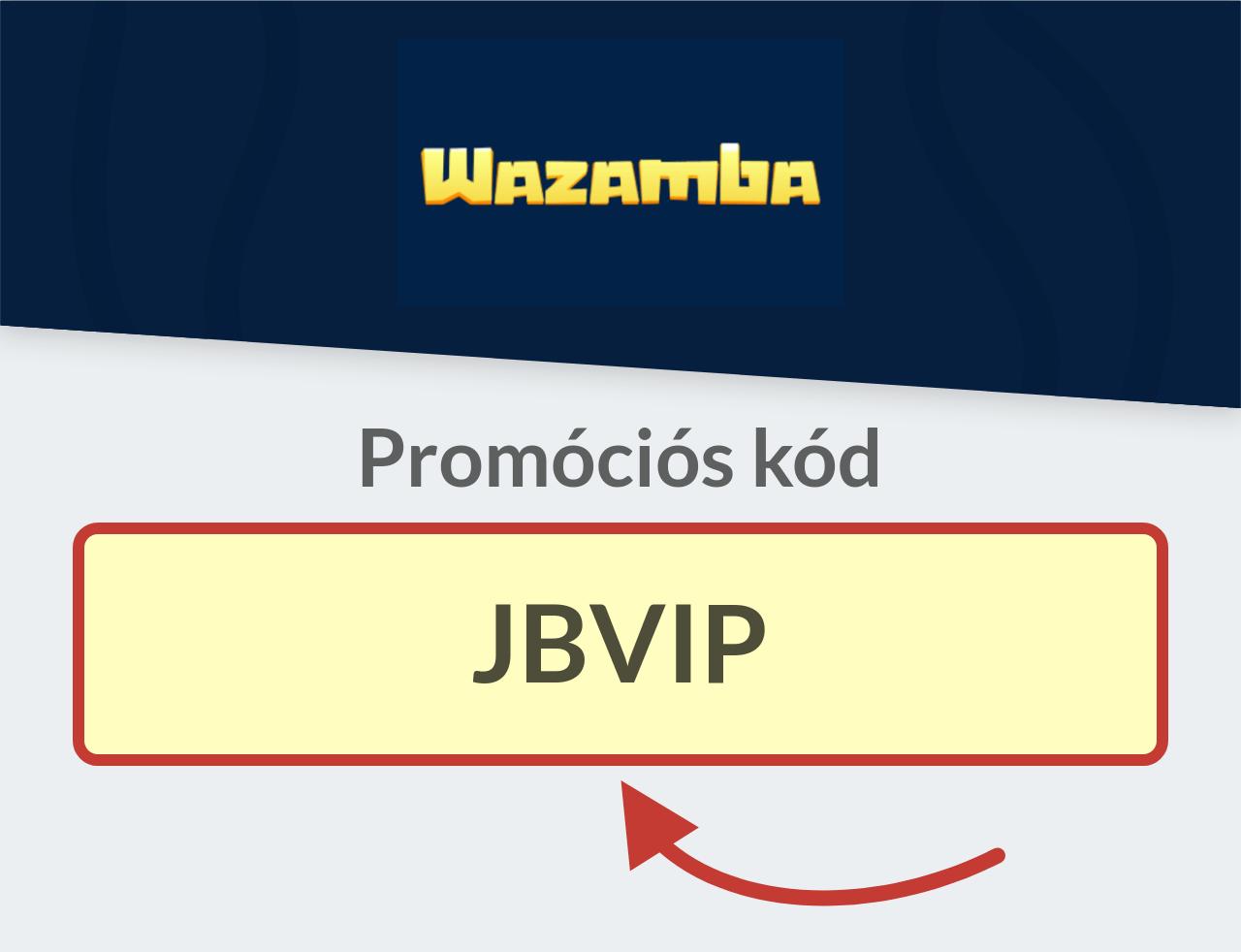 Wazamba Casino Promóciós kód