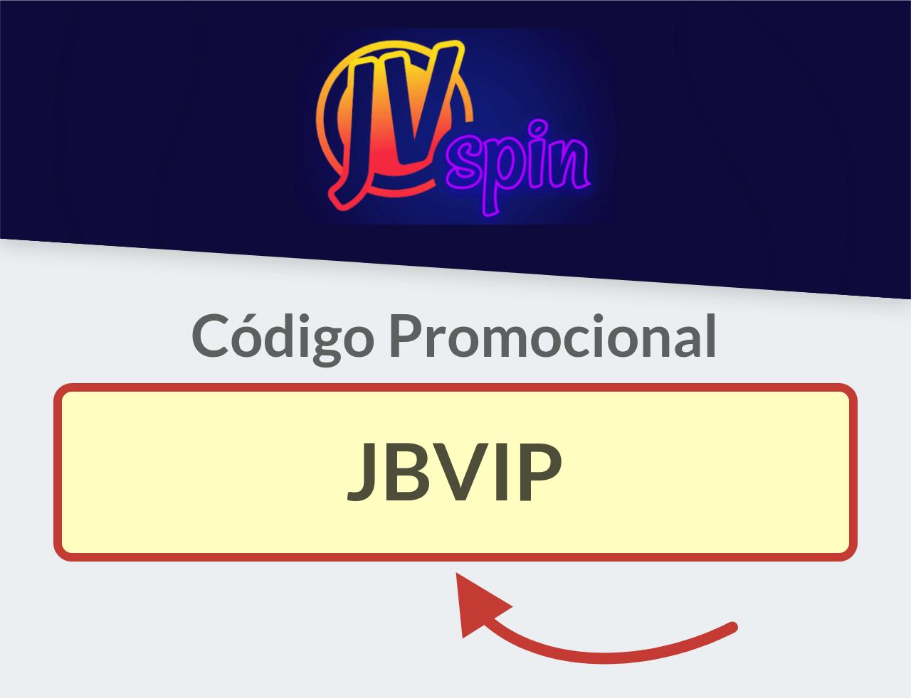 Código Promocional JVspin Casino