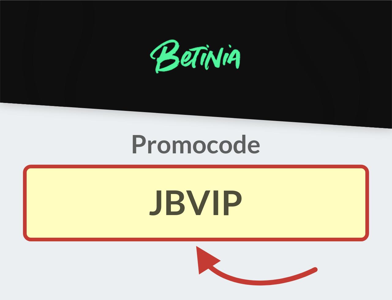 Promocode Betinia