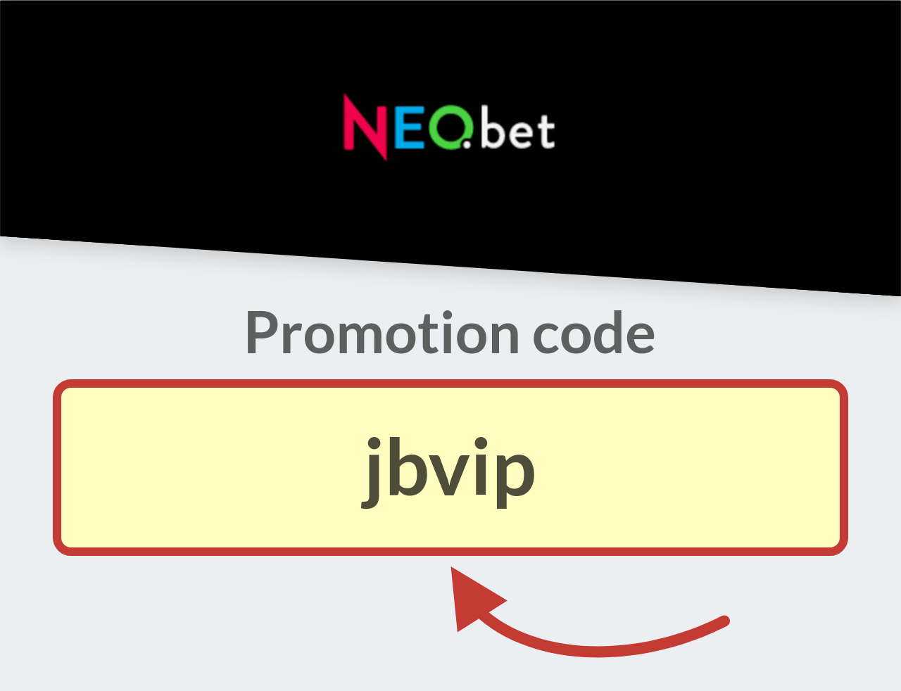 NEO.bet promotion code