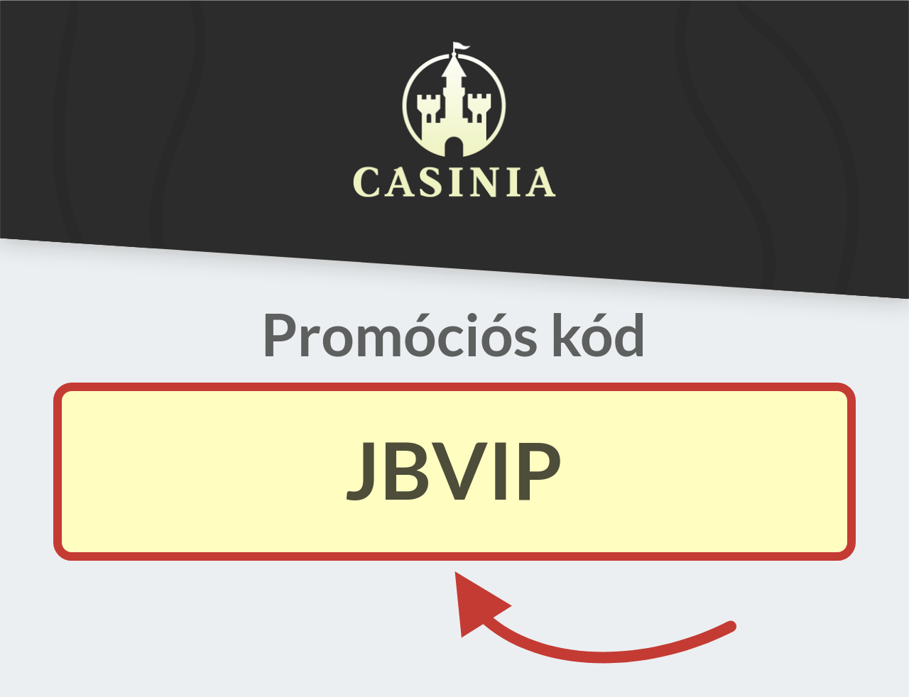 Casinia Promóciós kód