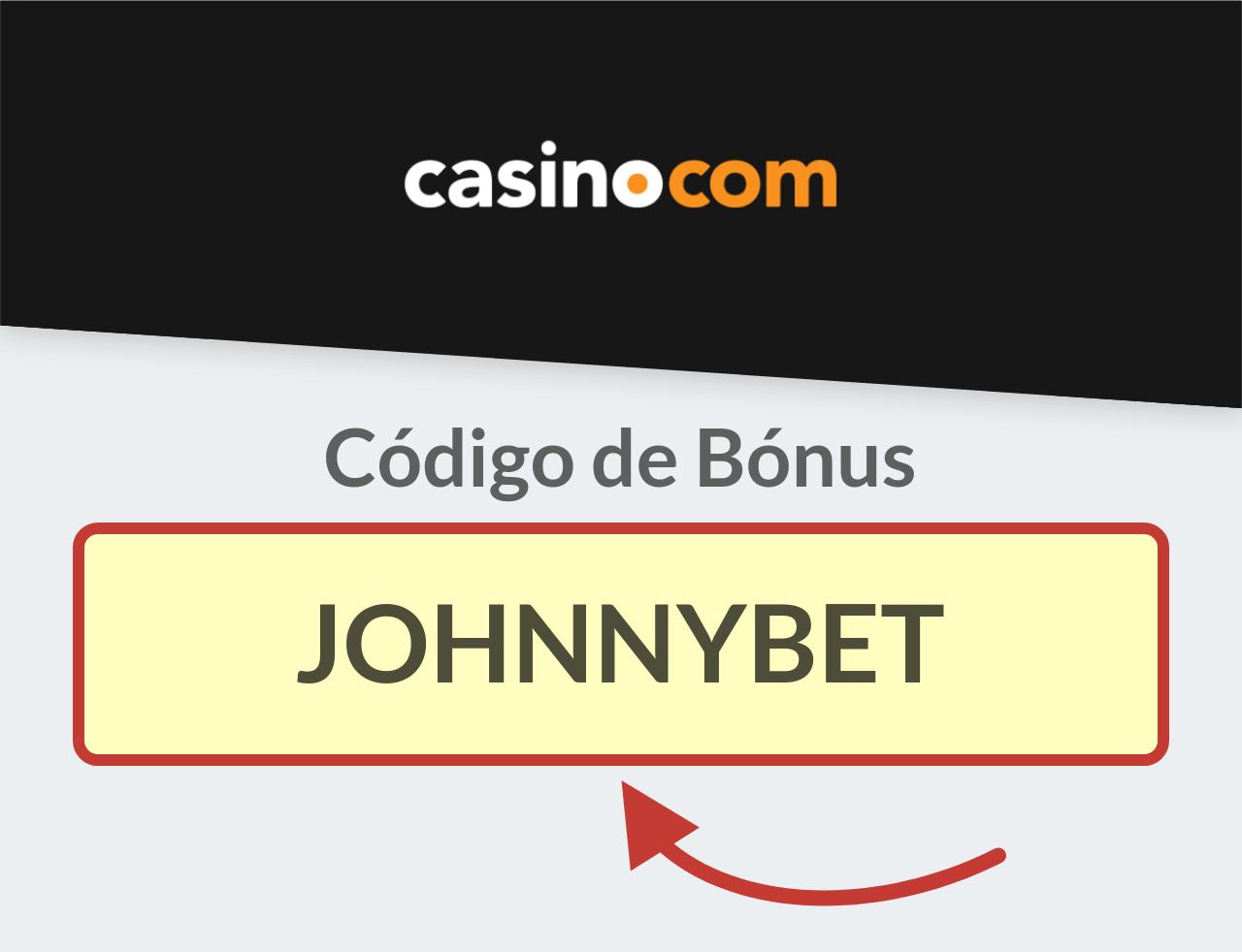 Código Promocional Casino.com
