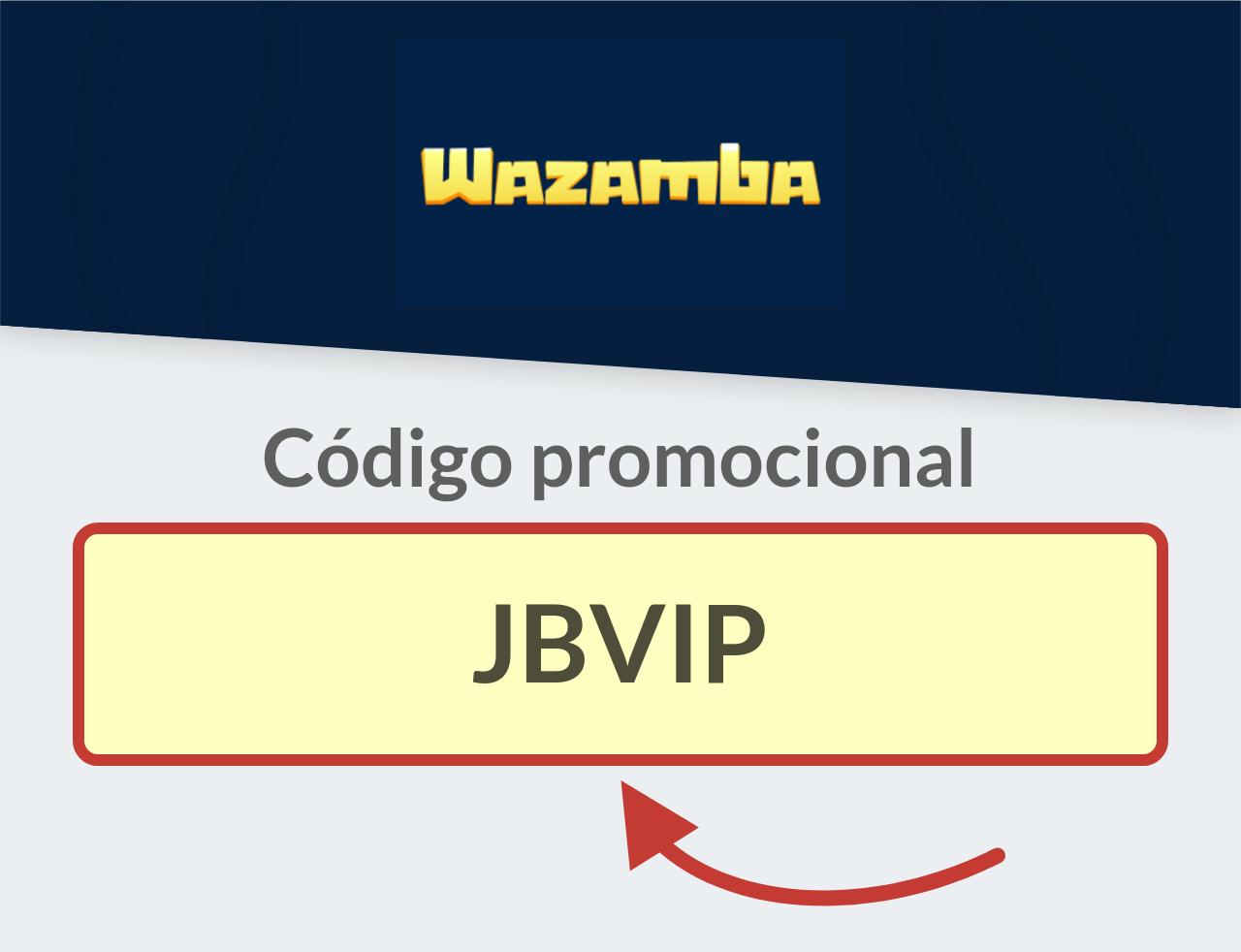 Código promocional Wazamba
