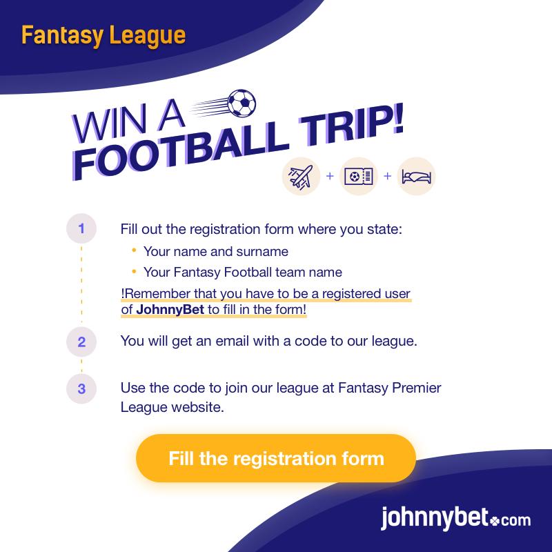 fantasy premier league johnnybet league