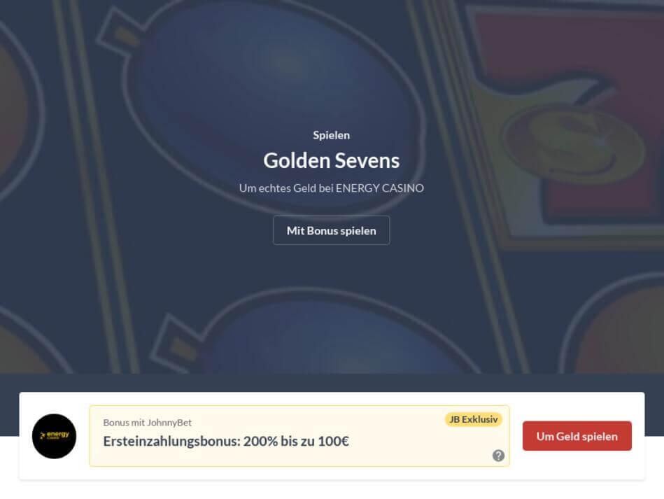 Golden Sevens Kostenlos Spielen Ohne Anmeldung