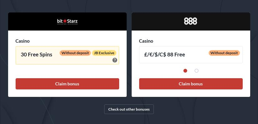 Casinos With No Deposit Bonus Codes