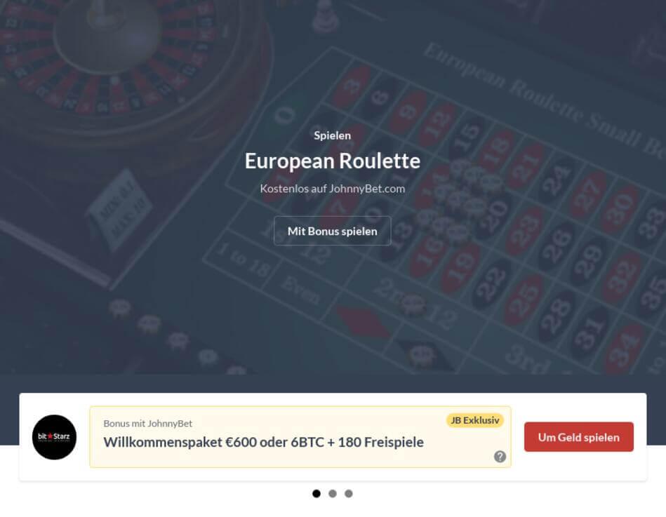 Roulette Online kostenlos spielen ohne Anmeldung