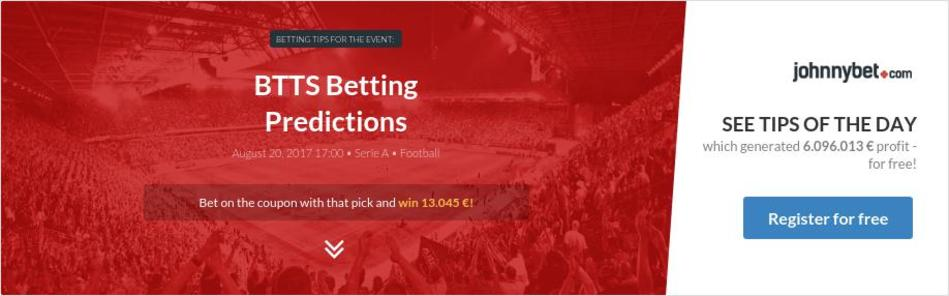 Btts betting closed predictions keeping archives bettington buy