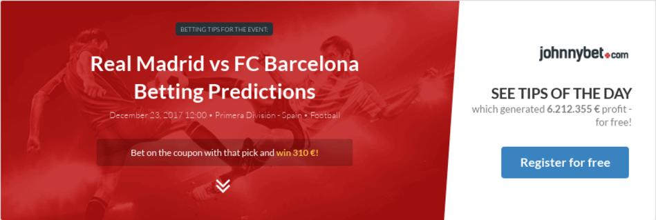 Real madrid vs barcelona betting odds crypto currency review 2021