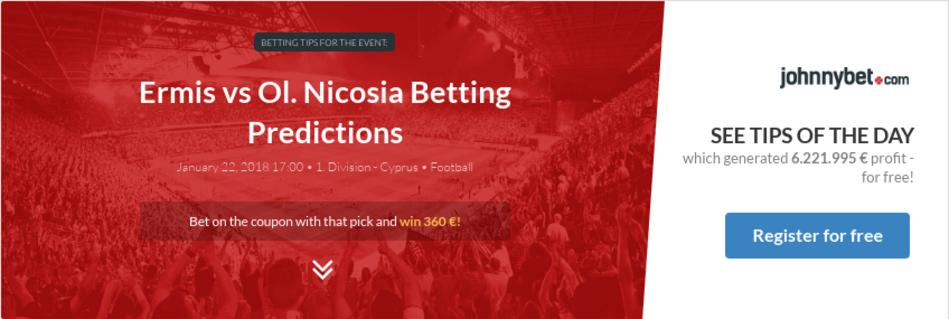 Nicosia betting 1x2 chance morris csgo betting