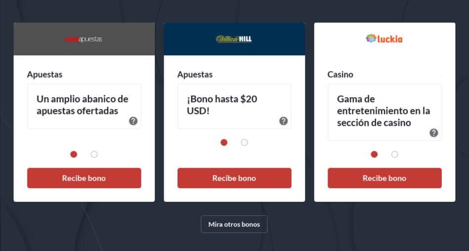 Bono Por Registro Sin Depósito Inicial