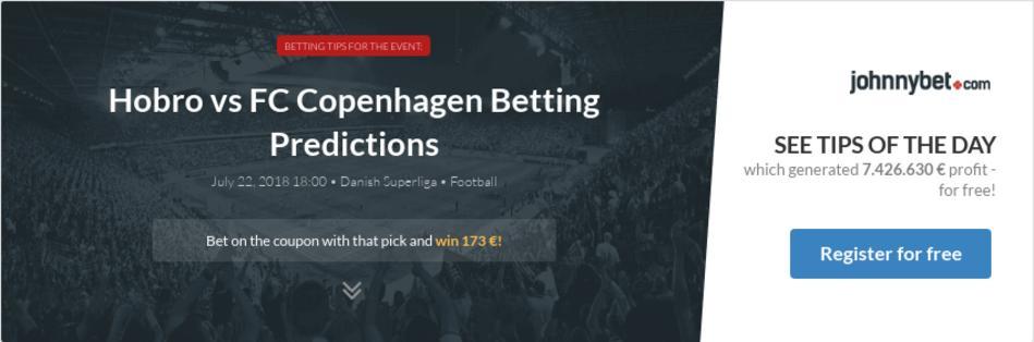 Hobro vs FC Copenhagen Betting Predictions