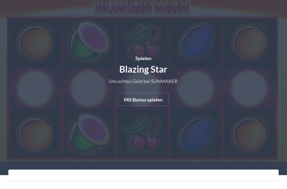 Blazing Star Für PC Download
