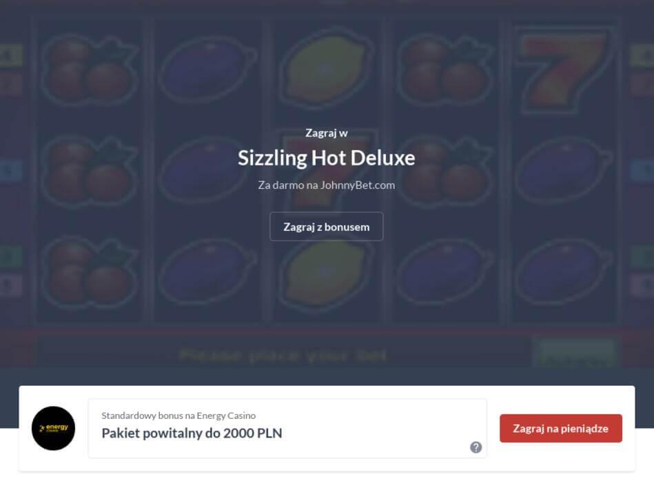 Sizzling Hot Online za Darmo Bez Logowania