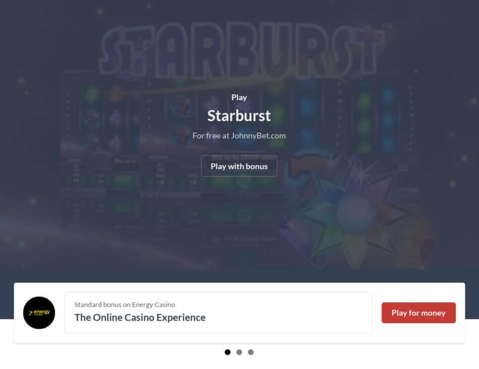 Starburst Casino Game Download