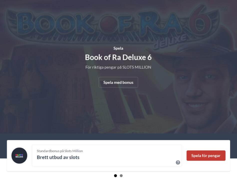 Spela Book of Ra gratis