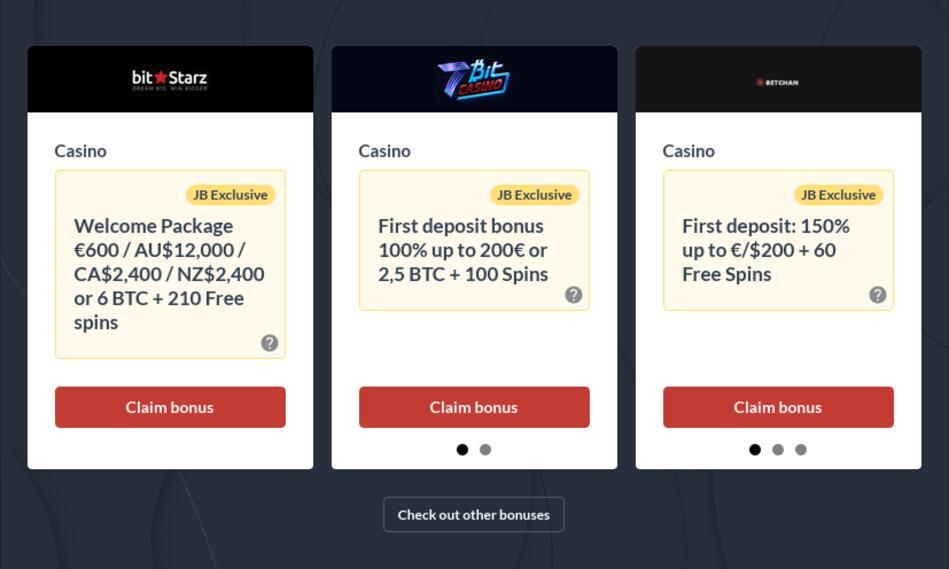 Bitcoin Casinos Canada 2021