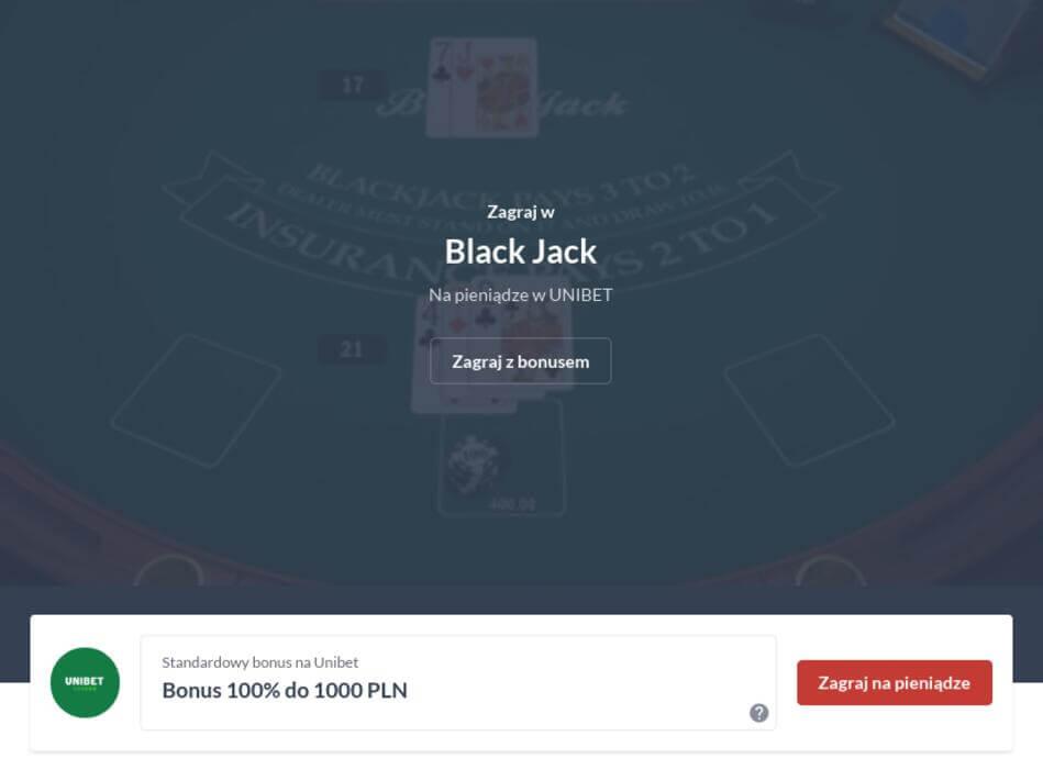Black Jack Online na Prawdziwe Pieniądze