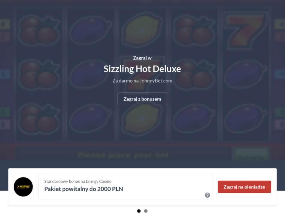 Sizzling Hot na Prawdziwe Pieniądze