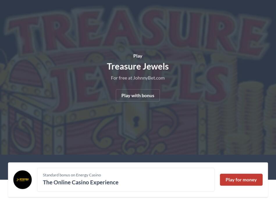 Treasure Jewels Slot Machine